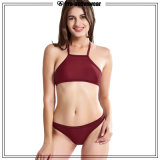 Zwei Stücke Yong-Mädchen-Sommerbeachwear-Bikini-Frauen-Badeanzug-
