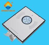 Luz de calle integrada solar de la fábrica 8W de China