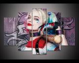 5 طبع لوح [هد] صورة زيتيّة إنتحار فرقة [هرلي] [قوينّ] نوع خيش طبق فنّ منزل زخرفة جدار فنية صور لأنّ يعيش غرفة