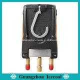 Los refrigerantes Testo550 de 60 Original Digital indicador del colector de 2 vías con dos sondas de temperatura de la abrazadera de Testo 550 nº 0563 1550