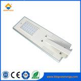 옥외 IP65 20W LED 통합 태양 거리 조명