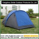 Barraca de acampamento ao ar livre do poliéster do quarto da pessoa 2 do OEM 8