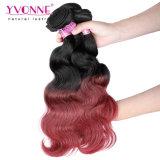 Colore peruviano T1b/99 dei capelli di Ombre dell'onda del corpo di Yvonne di prezzi di fabbrica