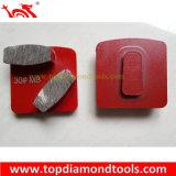 Блокировка Redi алмазные шлифовальные Pucks трапеции для конкретных полировка