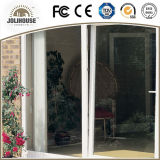 熱い販売の工場安い価格のガラス繊維のグリルの内部が付いているプラスチック傾きおよび回転ドア