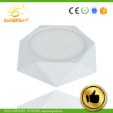 La CE aprobó RoHS Lámpara de LED blanco cálido de abajo para montaje en superficie de la luz de techo