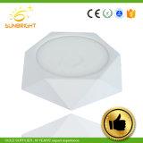 Ce RoHS утвердил светодиодный светильник теплого белого света на потолке для установки на поверхность