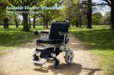 Sillón de ruedas lisiado portable de la energía eléctrica del plegamiento fácil para los ancianos