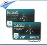 주문 풀 컬러 Cr80 크기 PVC 자기 카드 VIP/ID/Gift 카드