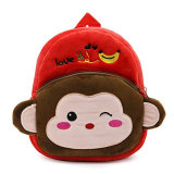 プラシ天のおもちゃ猿のランドセル