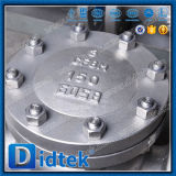 Valvola di ritorno dell'acciaio inossidabile dell'estremità della flangia di Didtek CF8m non