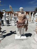 Het snijden van het Marmeren Beeldhouwwerk van het Standbeeld van de Steen voor de Decoratie van de Tuin