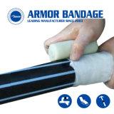 테이프를 감싸는 관 누출 수선 테이프 PVC 관 포장 테이프 10cm 3.6m 까만 기갑
