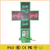 원격 제어 P10 옥외 LED 약학 십자가 표시