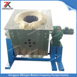 250kw 250kg forno de fusão por indução de fundição de aço para venda