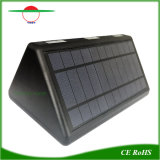 66LED屋外センサーの動きの機密保護の庭のための太陽壁ライト