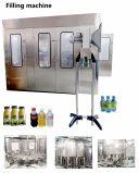 Botella de Pet automático de agua líquida de bebidas de jugo de 3-en-1 Envasadora