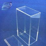 9PCSプラスチック透明なアクリルの花ボックス