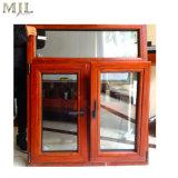 Insonorisées construit dans les Stores de bois d'aluminium à double vitrage Fenêtre à battant