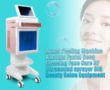 5 en 1 Venta caliente de la belleza de alta calidad de instrumento para el cuidado de la piel con piel hidrata rociar el agua de chorro de oxígeno