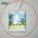 昇進の反射鏡PVC Charm/PVC反射Keychain/PVC押印のキーホルダー
