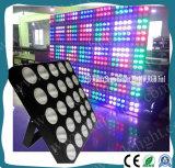 DMX 25PCS 10W RGBW 4in1 LEDのマトリックスの段階の視覚を妨げるものライト