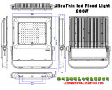 庭の景色LEDプロジェクター屋外200W LEDフラッドランプ