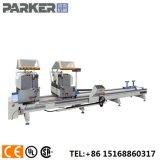 Parker Mitre CNC de aluminio con doble sierra de corte