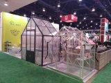 経済的な緩和されたガラスの温室Sg610の趣味の温室