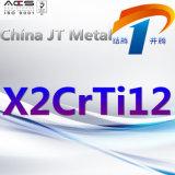 X2crti12 de Pijp van de Plaat van de Staaf van het Roestvrij staal