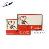 ISO7816 scheda chiave personalizzata dello Smart Card RFID