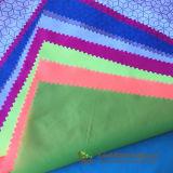 380 taffetas de nylon ripstop tissu imprimé pour la veste légère