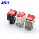 En blanco y negro 250V 16A 20T85 el interruptor basculante de China Proveedor