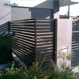 Lâmina de Alumínio Jardim decorativos com frestas de vedações