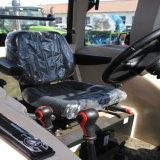 バックホウのローダーが付いている80HP 4WDのトラクター