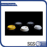 Kundenspezifisches Wegwerfplastikkaffeetasse-Kappen-Produkt