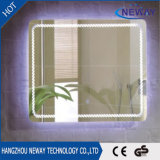 Rustproof moderne salle de bains décoratif miroir lumineux LED