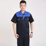 Manga Curta OEM roupas de trabalho uniforme uniforme de Trabalho de limpeza