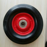 Una rotella di gomma solida resistente da 12 pollici