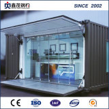Mobile Prefab Container House with Toilet (Container Cabin)