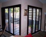 Classical PVC Bifolding y abatibles Plantation obturador Puertas (BHP-AD04)