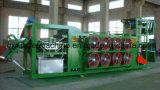 Cer-Standardstapel weg weg abkühlender Maschine/von der kühleren Maschine für Gummiblatt-Zeile