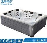 STAZIONE TERMALE esterna terapeutica della vasca calda del grande delle 6 sedi di Monalisa del platino codice categoria dell'elite con 3 Loungers