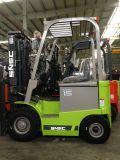 Nouveau chariot électrique de 1,5 ton avec pince à carton