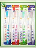 Dar libre el tubo de plástico Pack cepillo dental de alta calidad