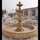 De gouden Fontein van het Graniet van het Zand voor Meubilair mf-1291 van de Tuin