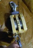 Polea de madera del bloque de JIS F3422 con el grillo
