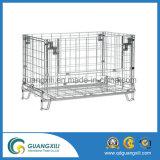 창고를 위한 직류 전기를 통한 Foldable 용접된 철망사 콘테이너