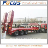 半60tons掘削機の油圧拡張可能なLowbedのトラックのトレーラー
