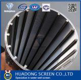 8 '' 5/8 экранов Johnson нержавеющей стали 304 обернутых проводом для фильтра песка